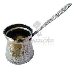 Mosadzná džezva Zimba s mosadznou rúčkou, 170 ml