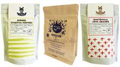 Ochutnávkový set č.1 Mephisto + Pán Králiček - pražené na espresso, 3 ks