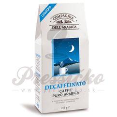 Compagnia Dell Arabica Pure Arabica Decaffeinato, mletá káva 250g
