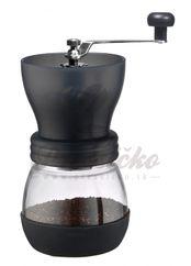Ručný mlynček na kávu Tiamo Fat, čierny