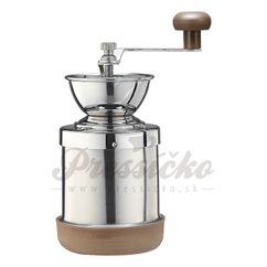 Ručný mlynček na kávu Tiamo Steinless Steel