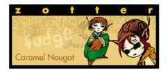 "Zotter čokoláda Caramel Nougat ""fudge"" 70g"