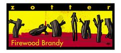 Zotter čokoláda Firewood Brandy 70g
