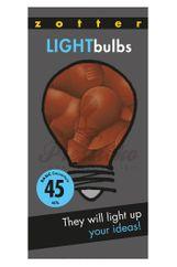 Zotter čokoládové žiarovky Light Bulbs 45%