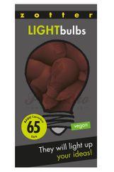 Zotter čokoládové žiarovky Light Bulbs 65%