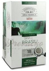 Compagnia Dell Arabica Brasile Santos, porciovaná káva 18x7g