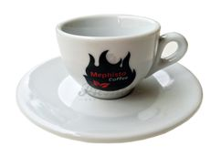 Espresso šálka Mephisto s podšálkou