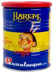 Passalacqua Harem, mletá káva 250g balenie v plechovke