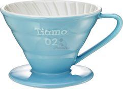 Keramický dripper Tiamo V02 modrý