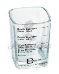 Odmerka na espresso zo skla - Joe Frex