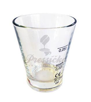 Pohárik na vodu ku káve, 80 ml